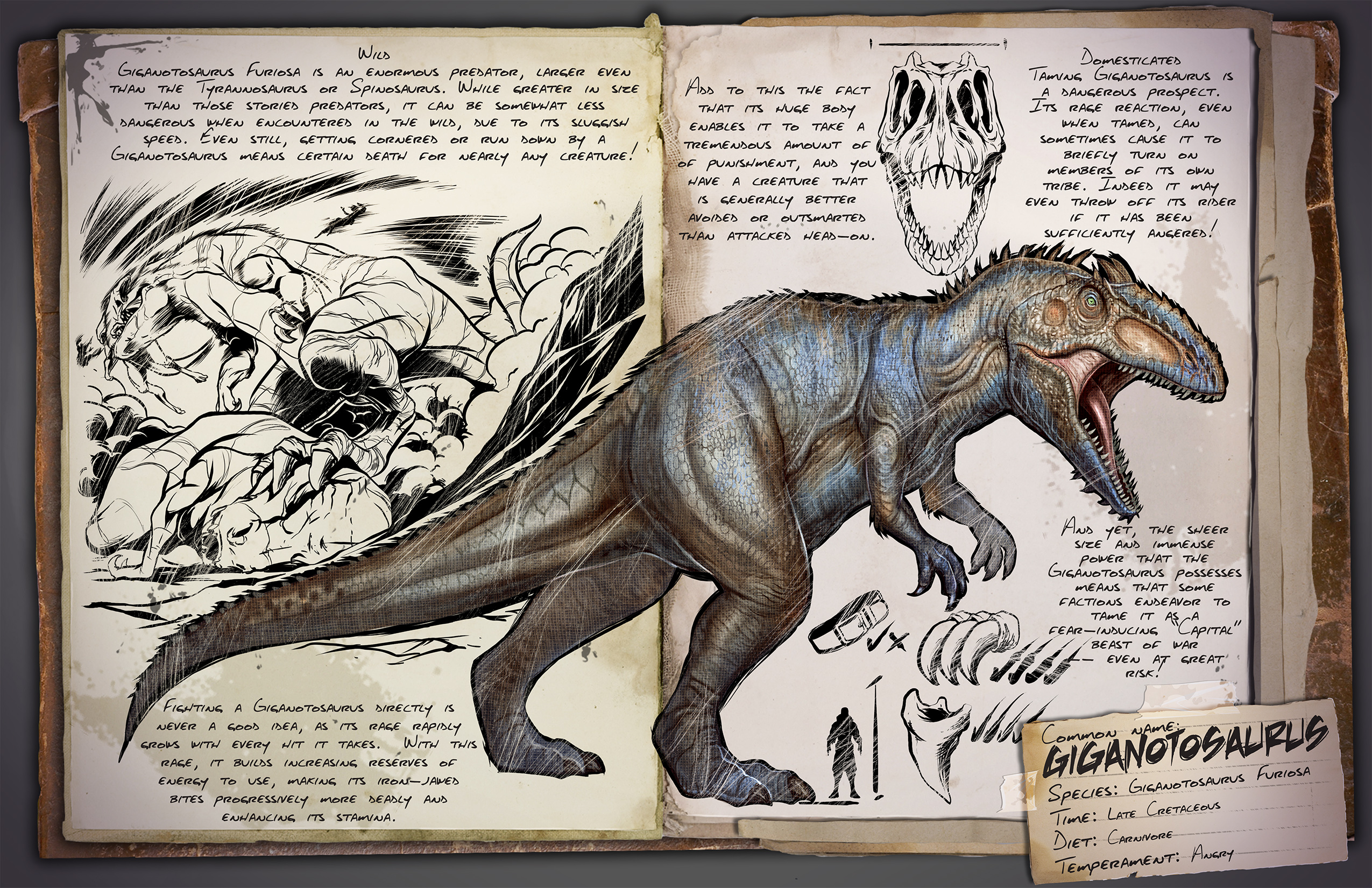 ARK: Survival Evolved - rozrůstající se fauna 11549