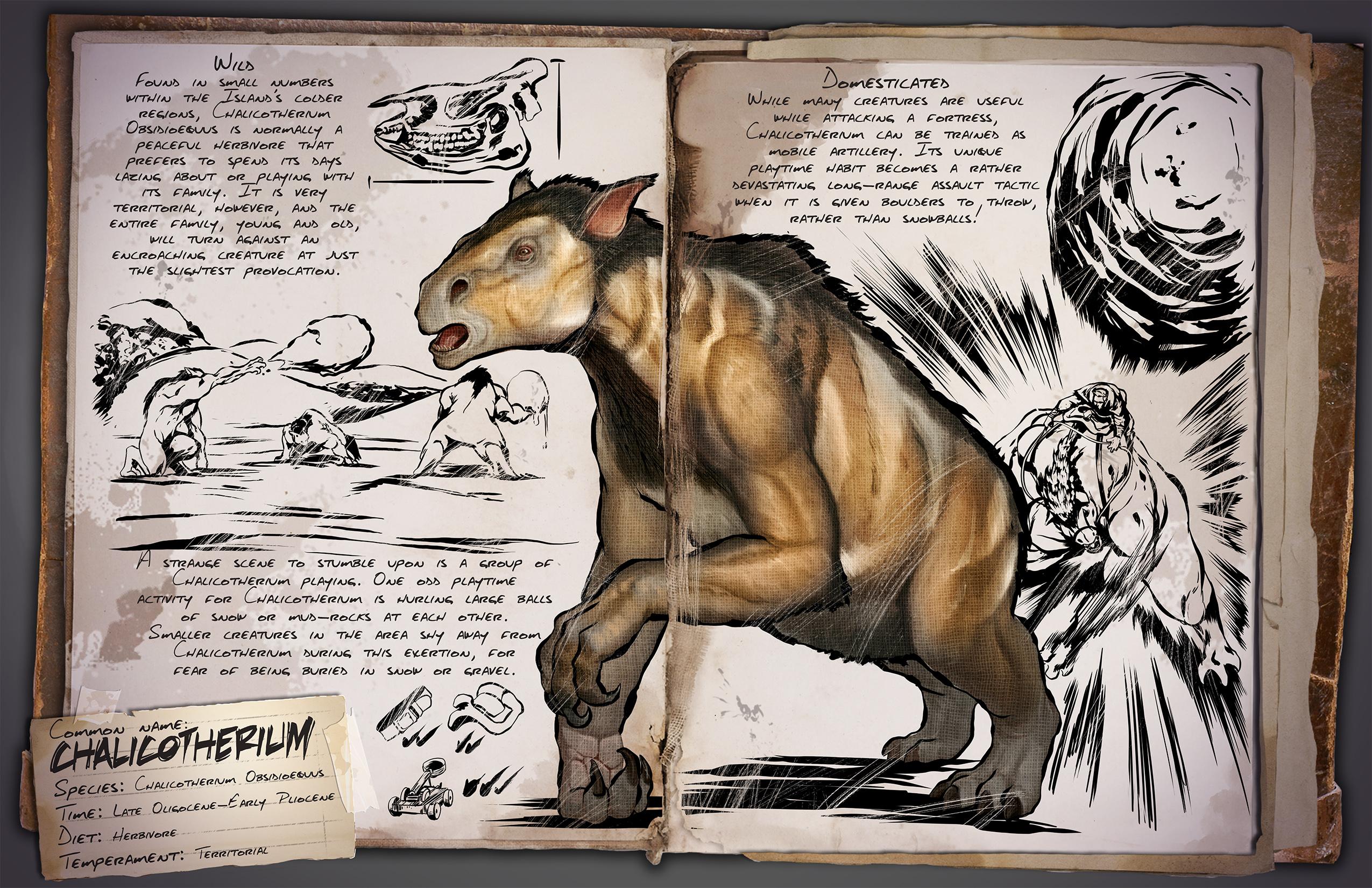 ARK: Survival Evolved - rozrůstající se fauna 11553