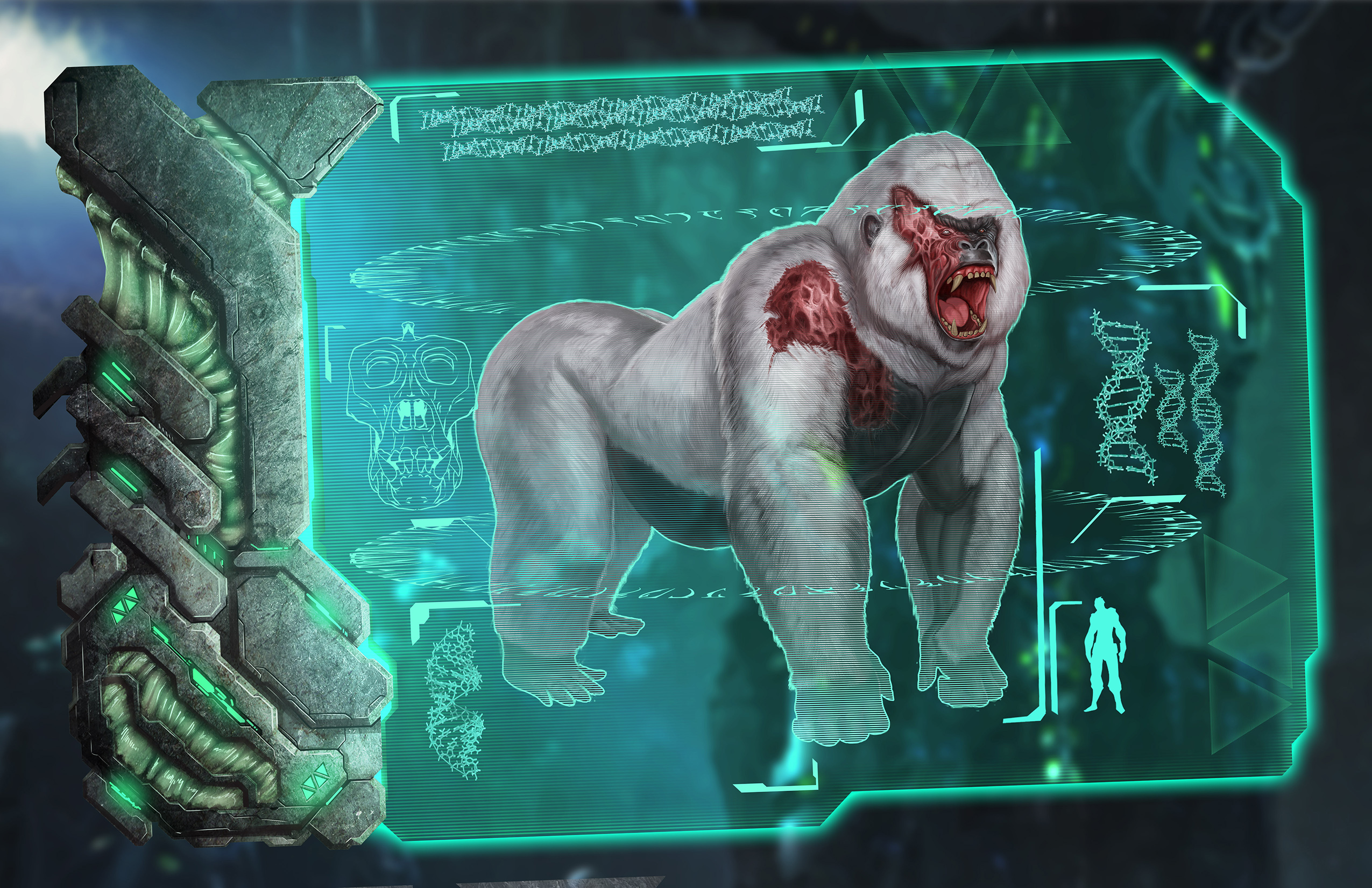 ARK: Survival Evolved - rozrůstající se fauna 11569