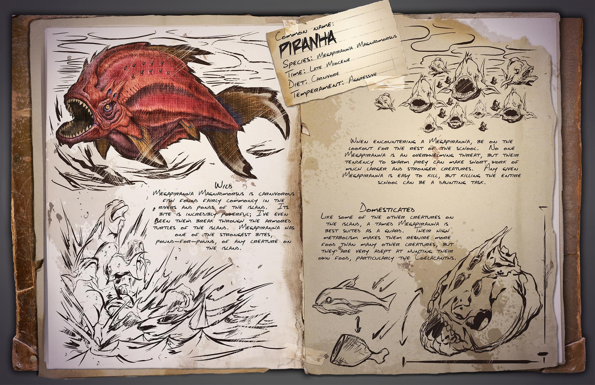 ARK: Survival Evolved - rozrůstající se fauna 11584