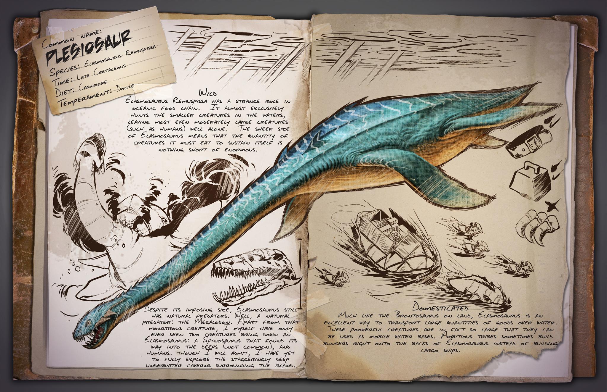 ARK: Survival Evolved - rozrůstající se fauna 11585
