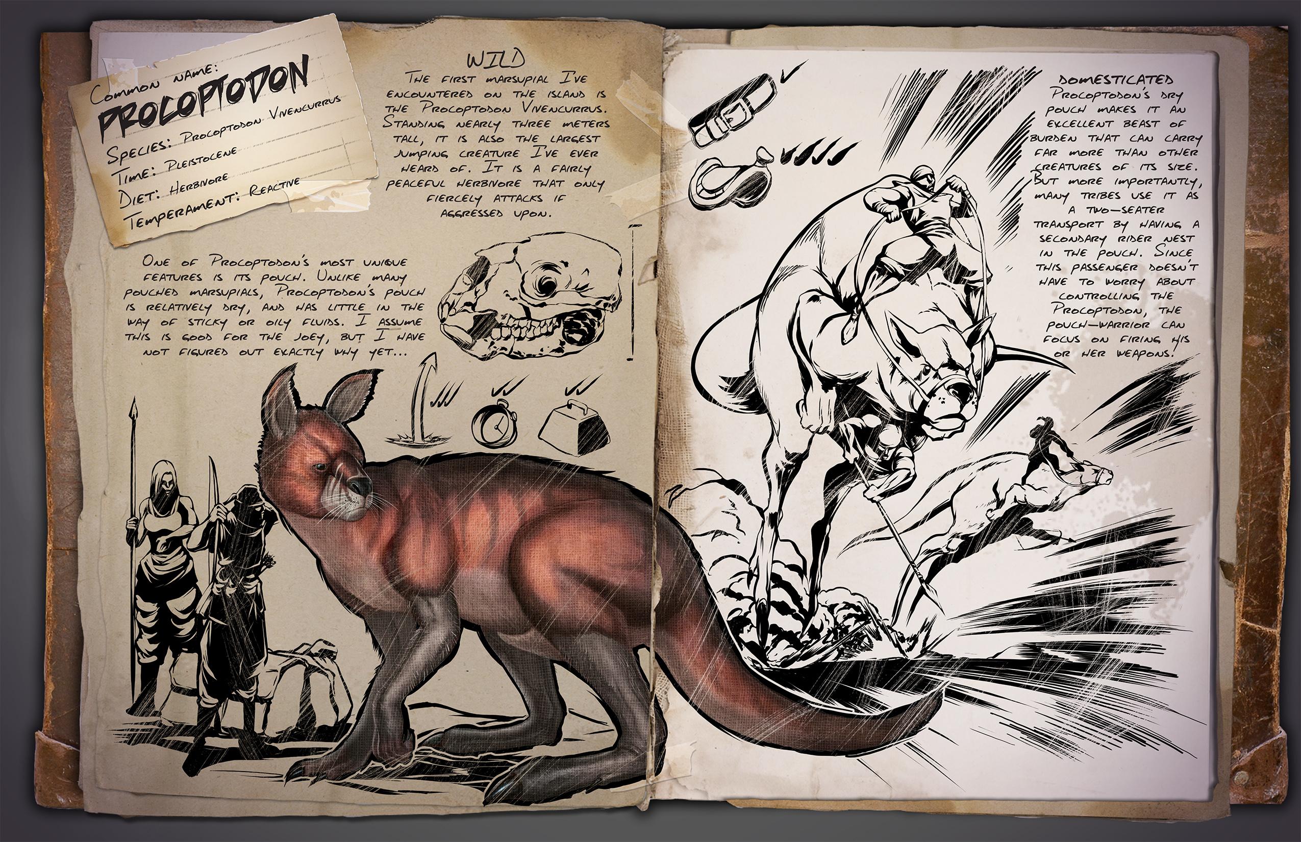 ARK: Survival Evolved - rozrůstající se fauna 11586