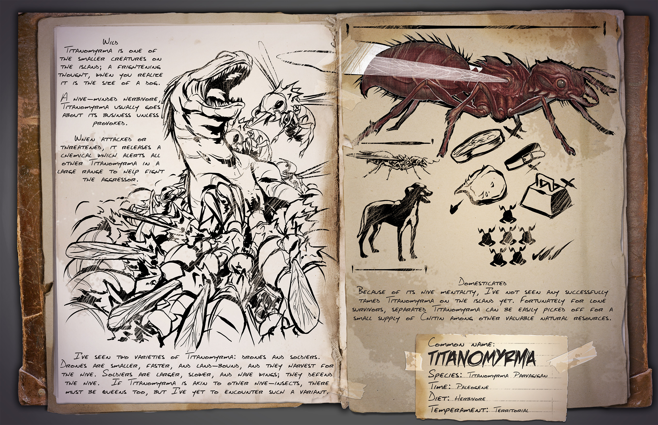 ARK: Survival Evolved - rozrůstající se fauna 11600
