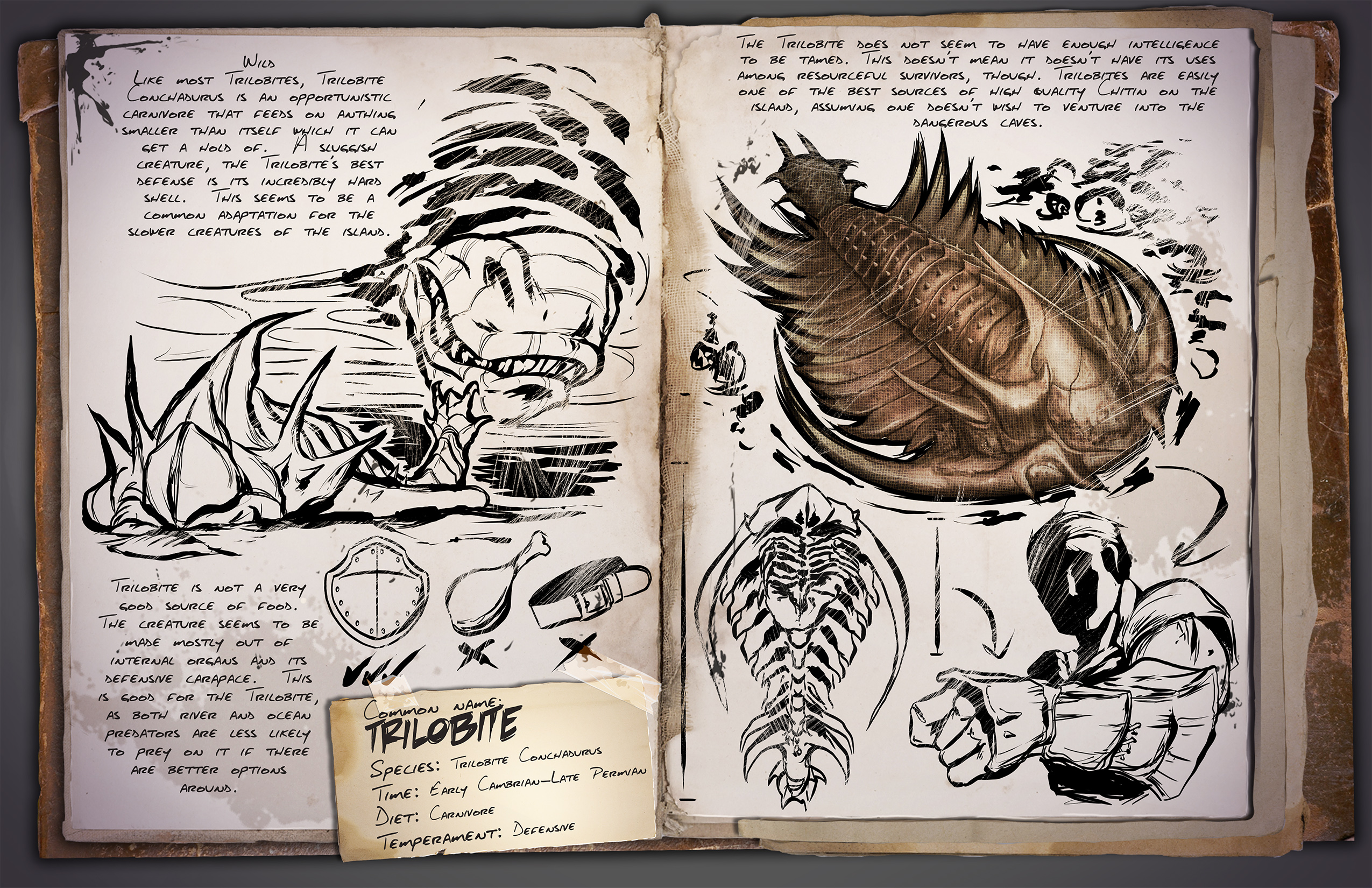 ARK: Survival Evolved - rozrůstající se fauna 11603