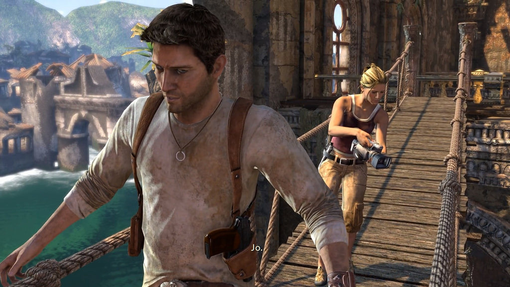 PS4 Uncharted: Drake's Fortune 11701