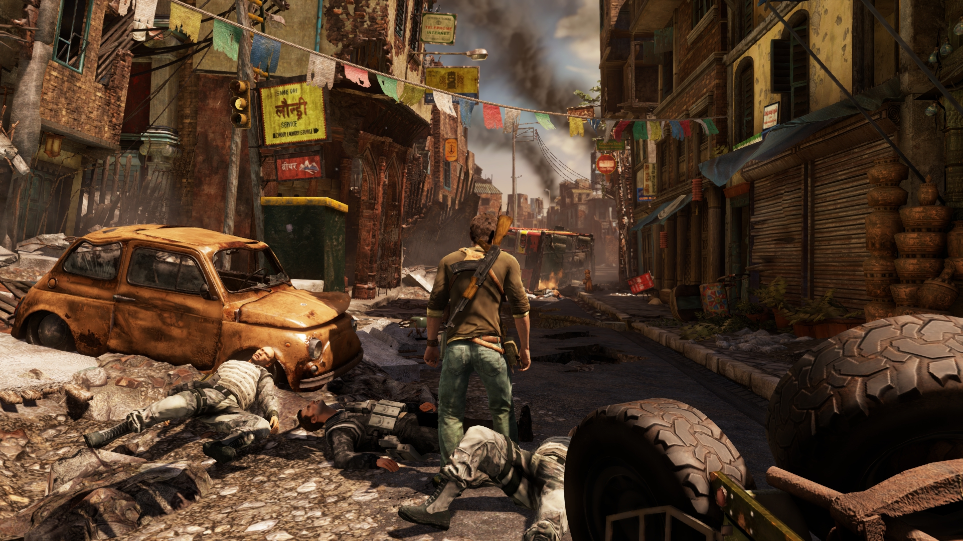 PS4 Uncharted 2: Among Thieves Remastered 12691