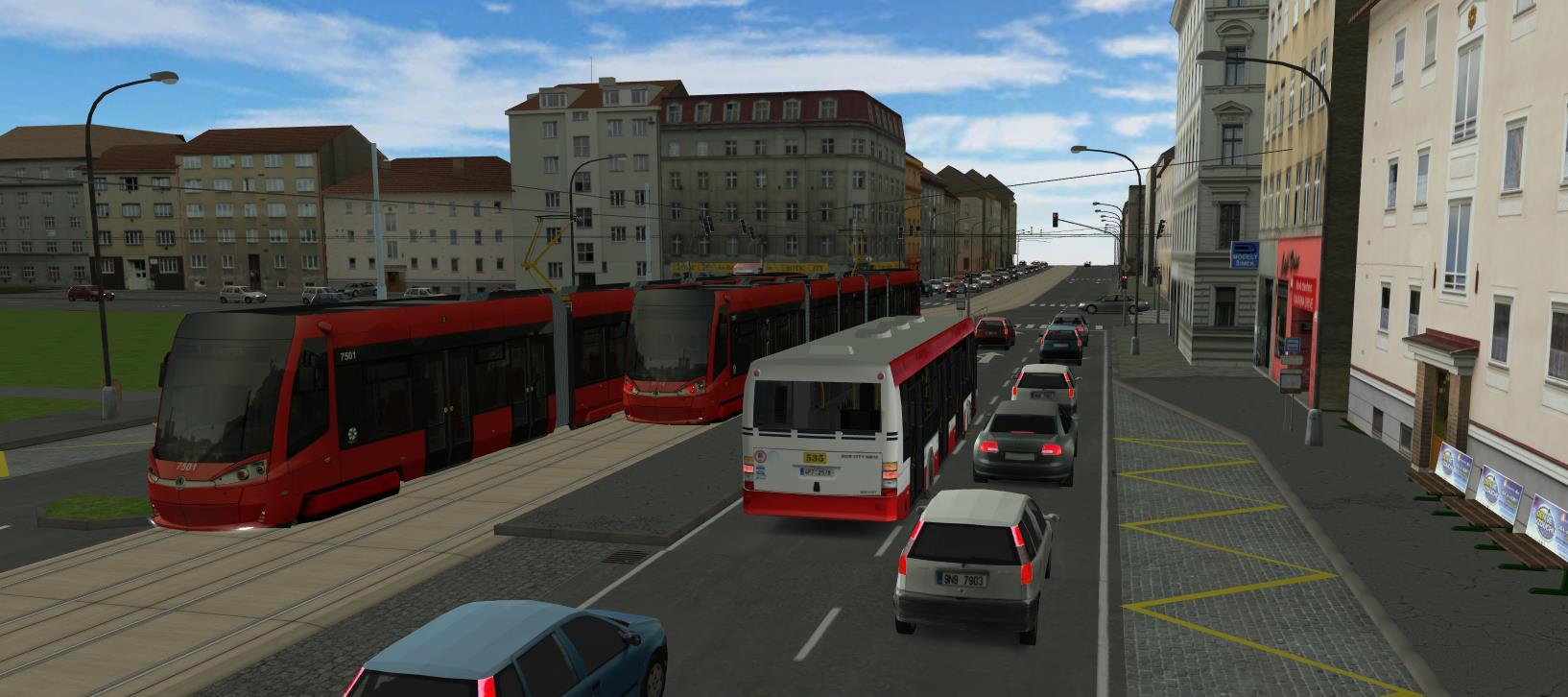 SIMT MHD - Český mhd simulátor, první hra s pořádnými trolejbusy 12755
