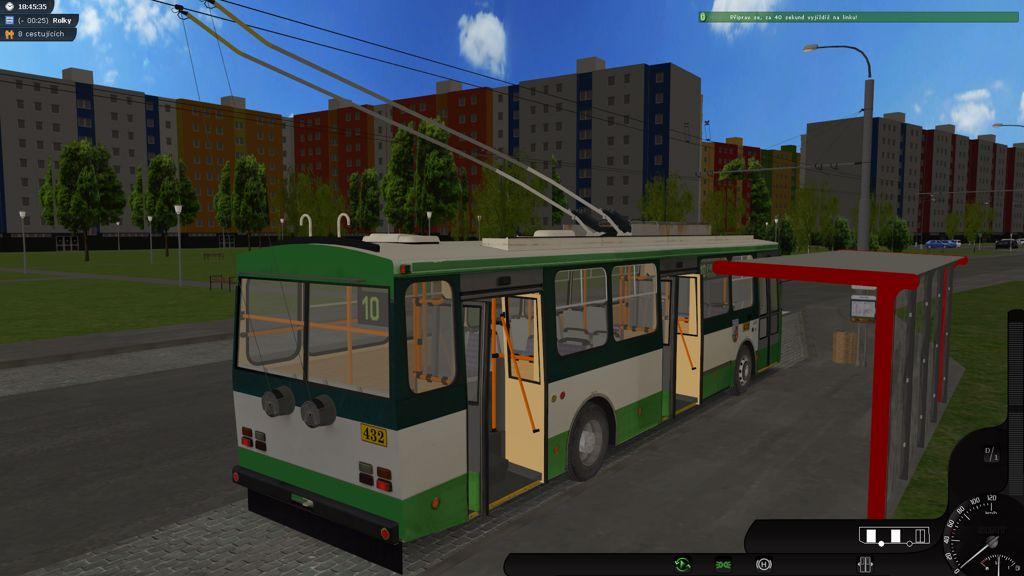 SIMT MHD - Český mhd simulátor, první hra s pořádnými trolejbusy 12759