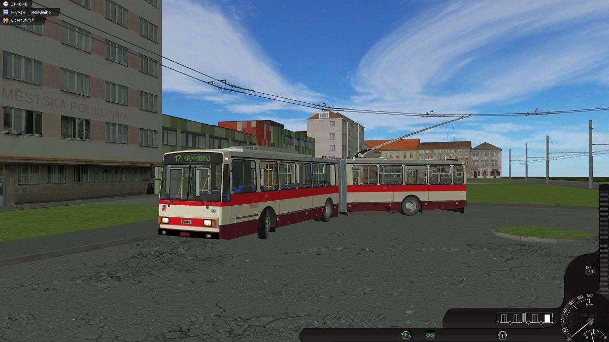 SIMT MHD - Český mhd simulátor, první hra s pořádnými trolejbusy 12762