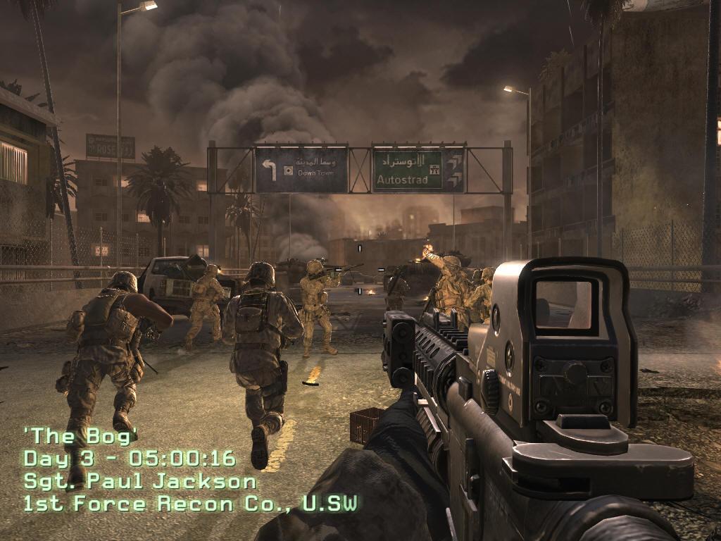 Call of Duty v proudu času 3085