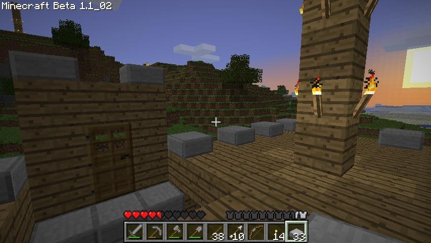 Já a mé první dojmy z Minecraftu 37343