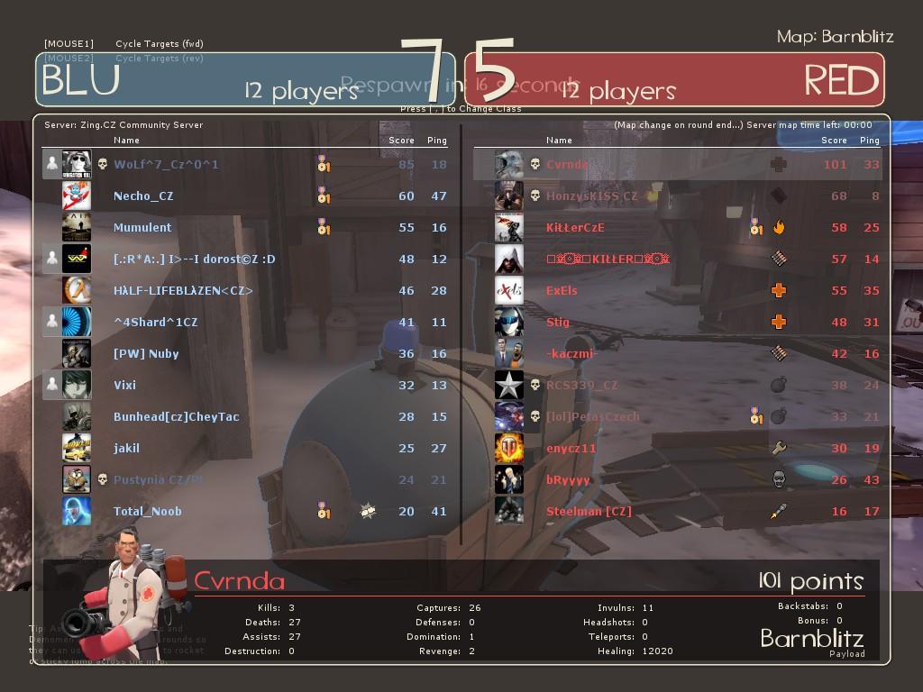 Team Fortress 2 znovu ovládla komunita Zingu 3907