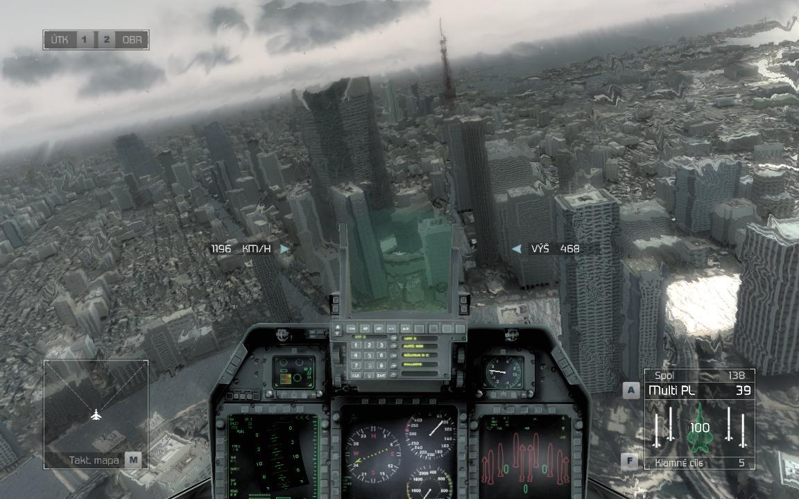 Tom Clancy's H.A.W.X.: Dva roky zpět do budoucnosti 3929