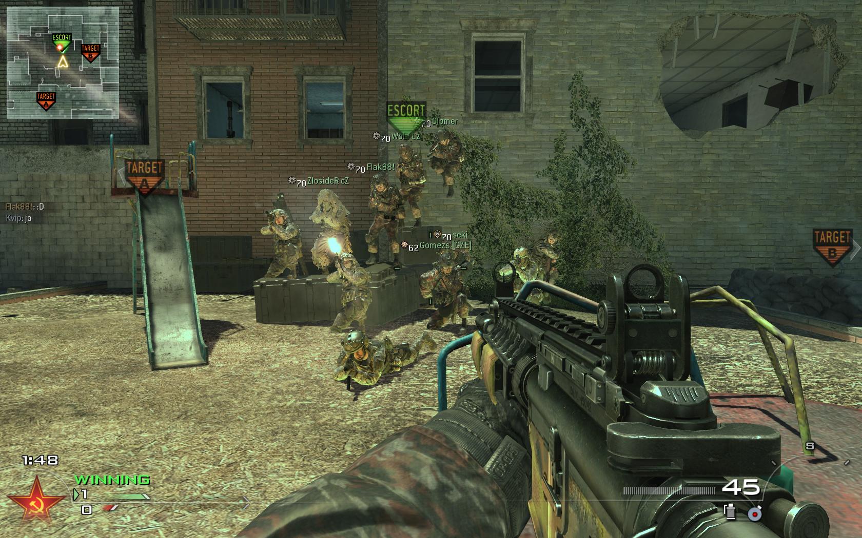 Modern Warfare 2 - třetí komunitní match 3973
