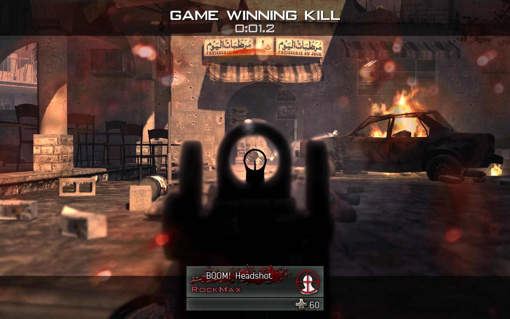 Modern Warfare 2 - třetí komunitní match 3976