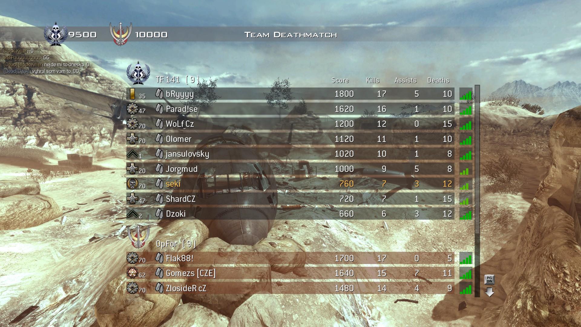 Modern Warfare 2 - třetí komunitní match 3977