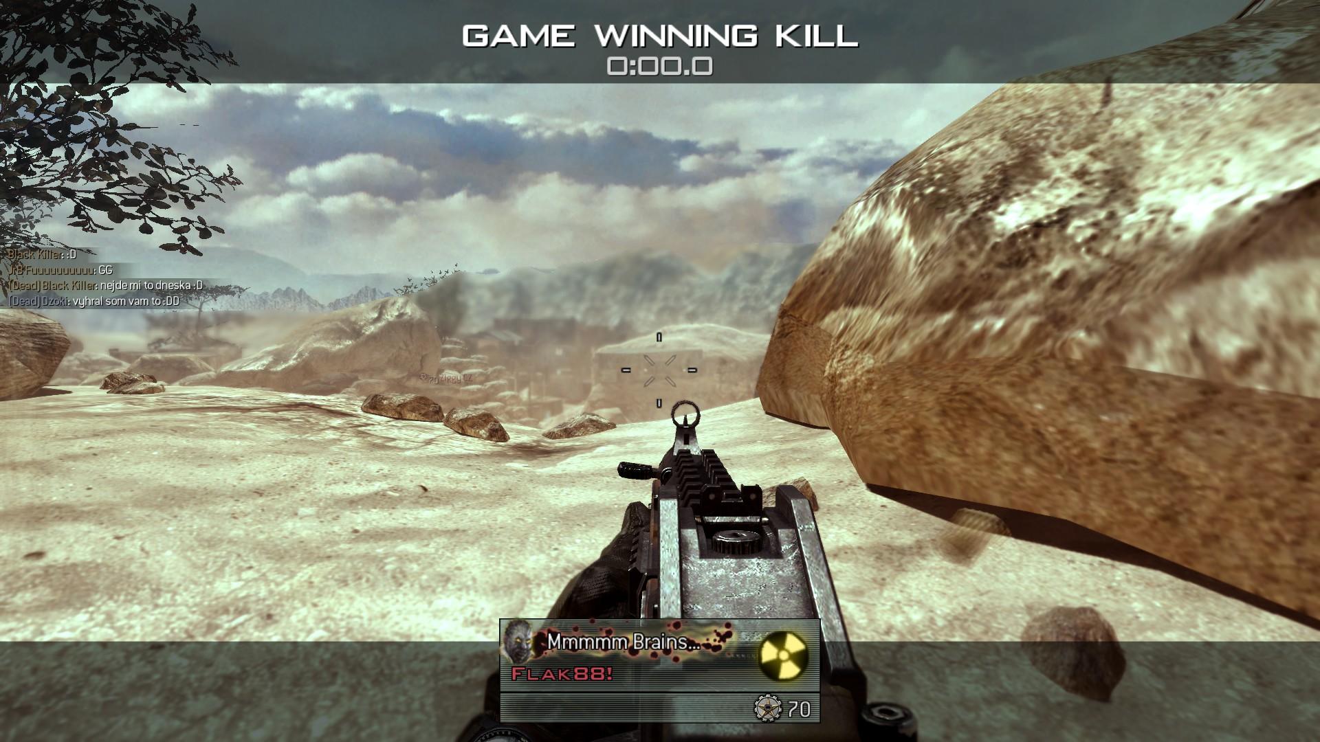 Modern Warfare 2 - třetí komunitní match 3978