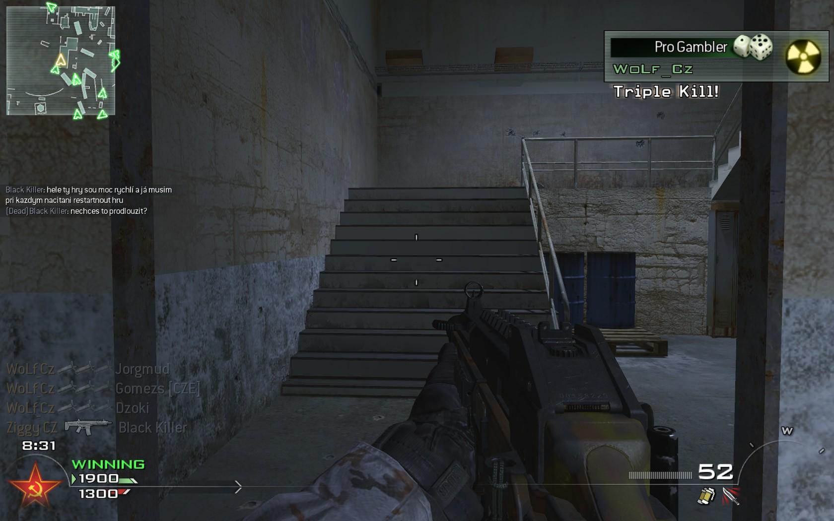 Modern Warfare 2 - třetí komunitní match 3988