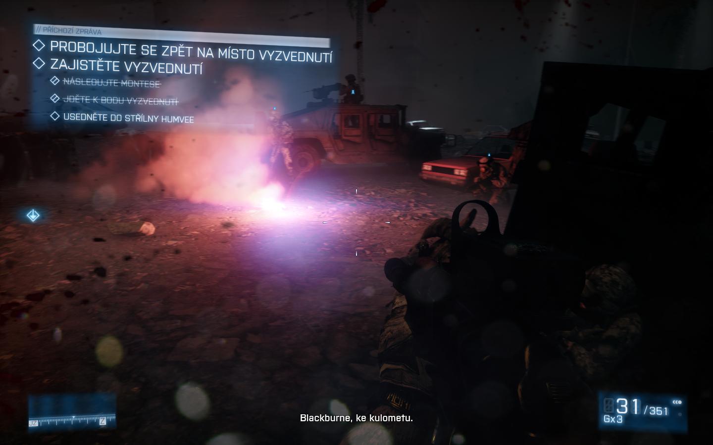 Battlefield 3 - Nabušená válečná akce 4308