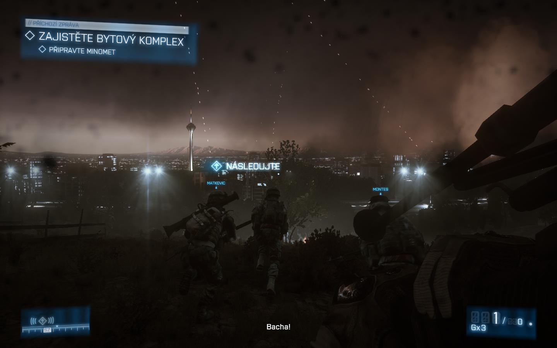 Battlefield 3 - Nabušená válečná akce 4310