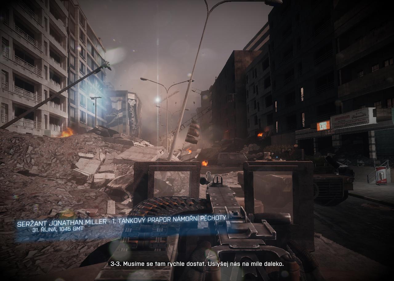 Battlefiel 3: Man down! 4321