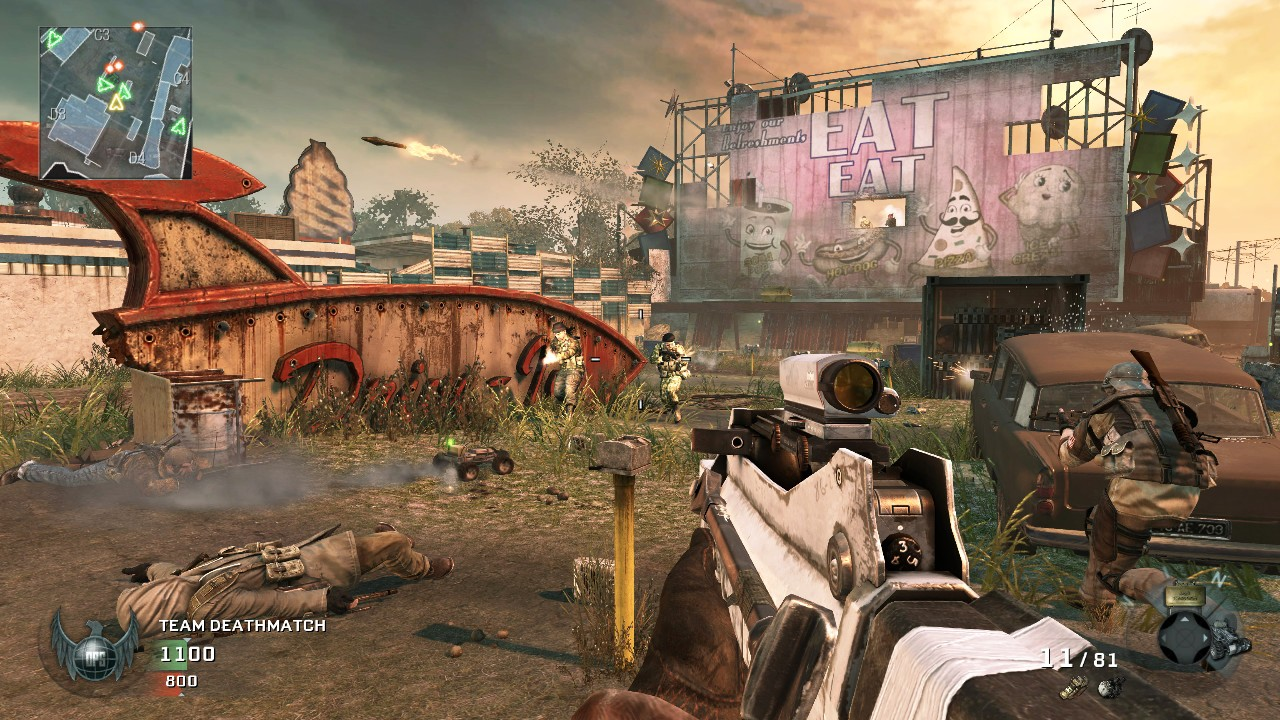 The Gaming history: Call of Duty 45100