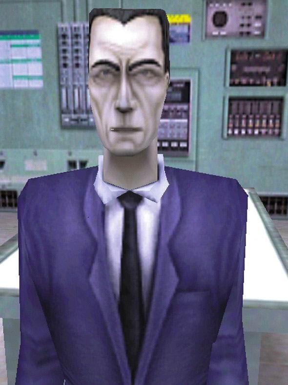 Nejtajemnější herní postava ze všech G-MAN 4932