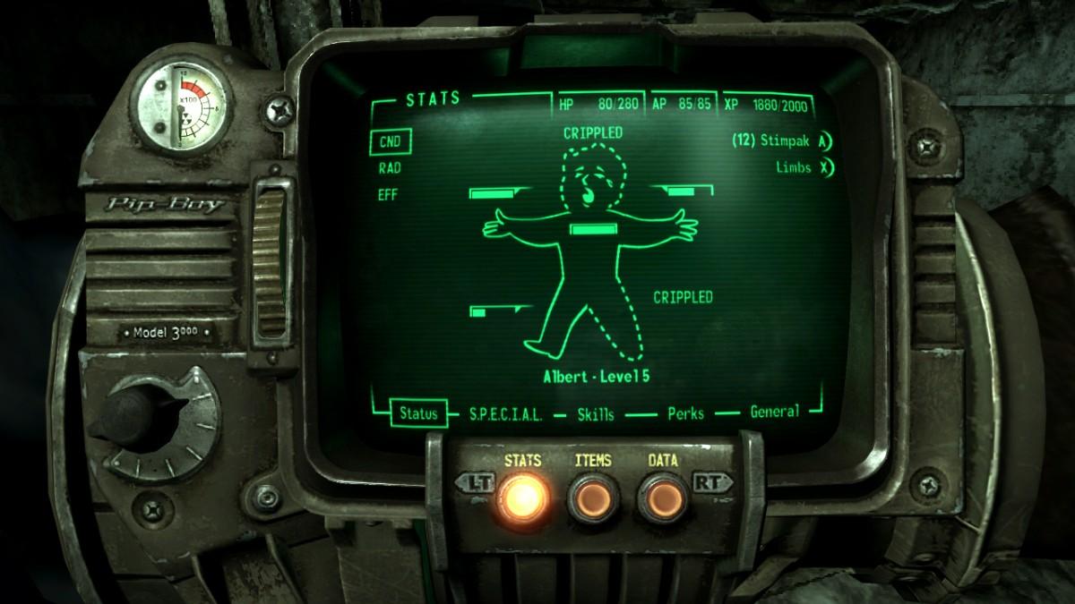Fallout 3 - analýza V.A.T.S. 5037