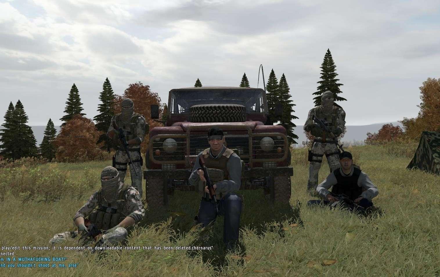 Arma II DayZ - boj o přežití 5578