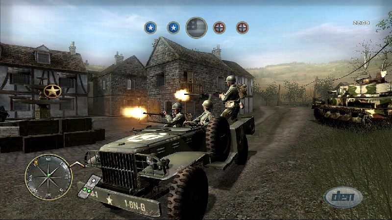 The Gaming history: Call of Duty 5807