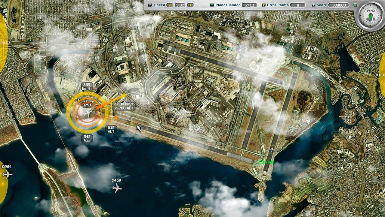 Airport Control Simulator ...tady AS 736 žádáme o povolení na přistání 5980