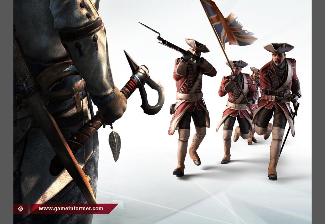 Assassin's Creed3 první detaily:Nový hrdina aneb 'Né všichni angličani jsou zlí' 61467