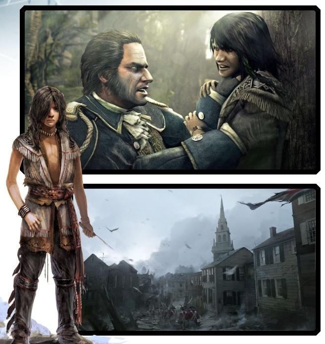 Assassin's Creed3 první detaily:Nový hrdina aneb 'Né všichni angličani jsou zlí' 61468
