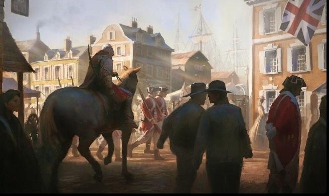 Assassin's Creed3 první detaily:Nový hrdina aneb 'Né všichni angličani jsou zlí' 61469