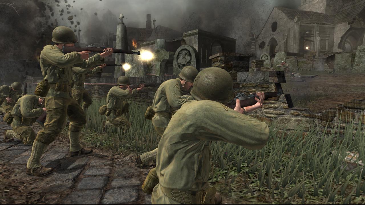 Pohled zpátky: Call of Duty 3 6336