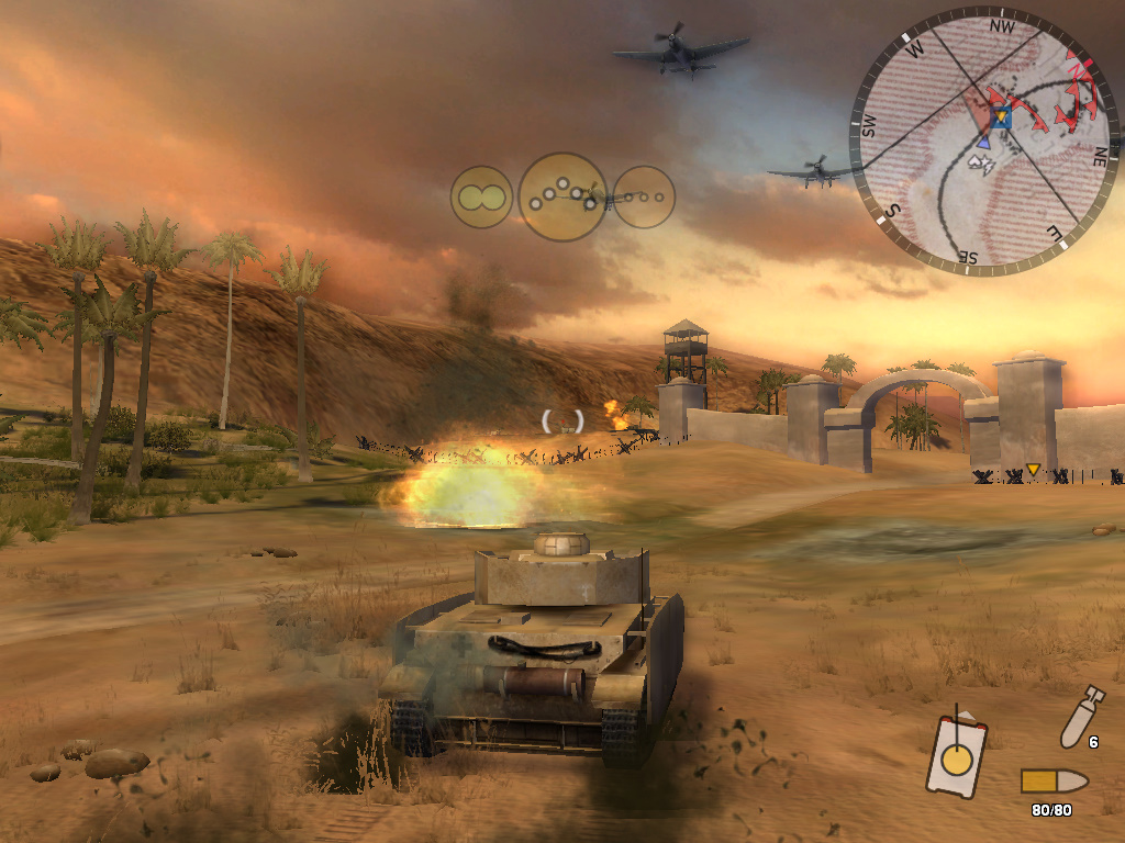 Staré hry: Panzer Elite Action: Dunes of War-Singleplayer 7211