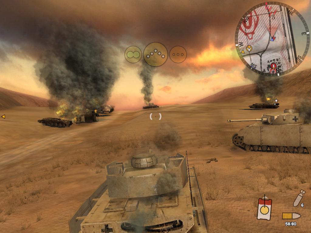 Staré hry: Panzer Elite Action: Dunes of War-Singleplayer 7212