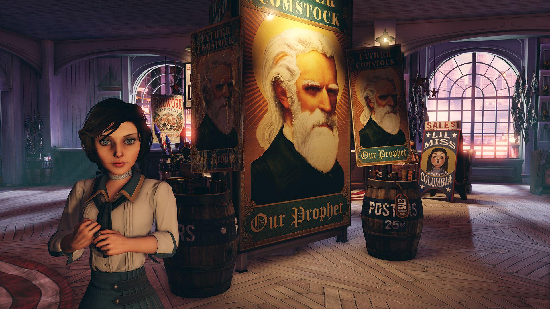 BioShock Infinite - Plovoucí město plné fantazie a korupce! 72862