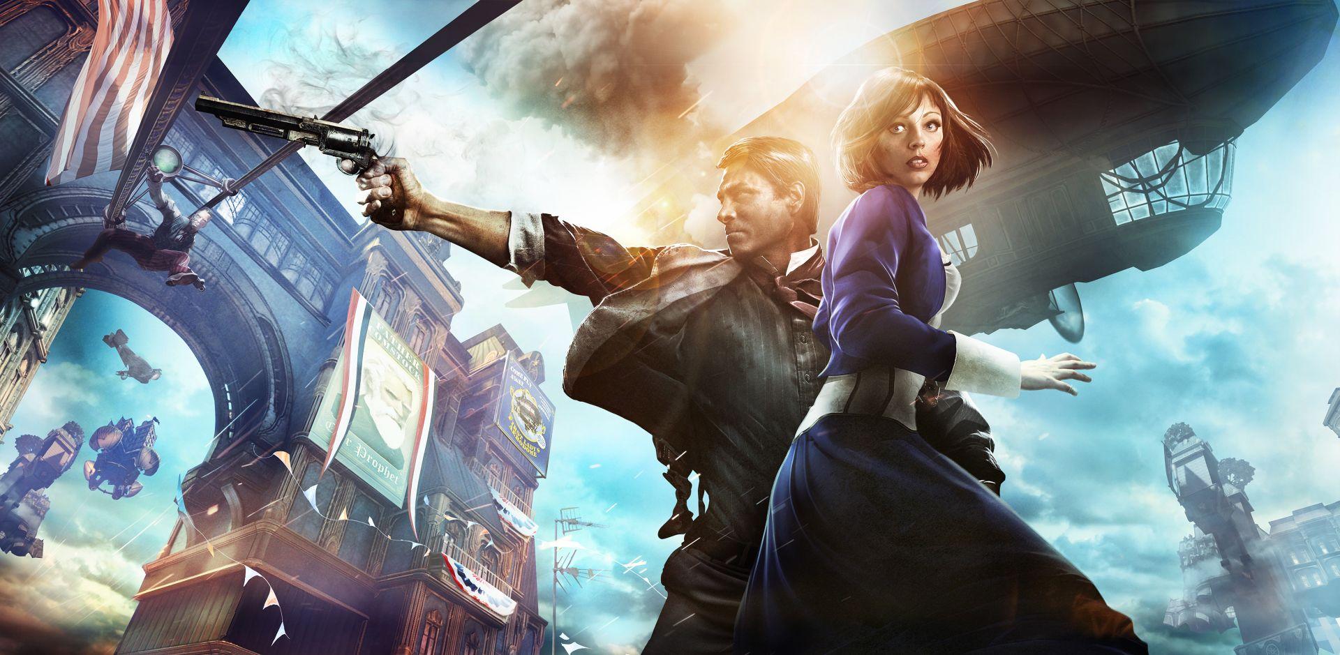 BioShock Infinite - Plovoucí město plné fantazie a korupce! 72867