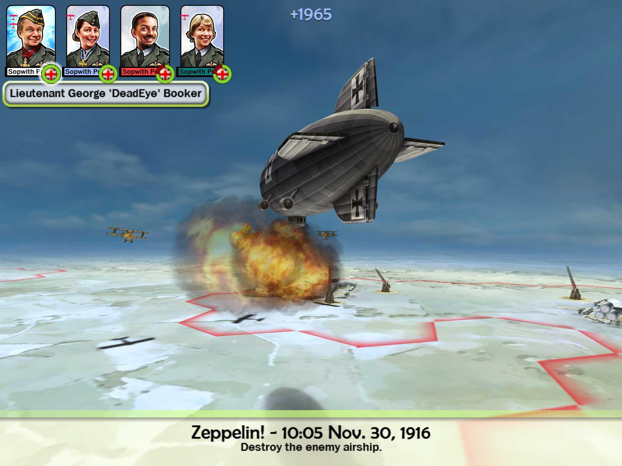 Sid Meier's Ace Patrol ...piloti na start! 7312