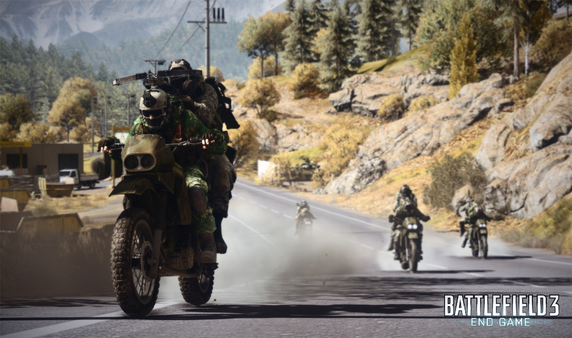 Battlefield 3 : End Game / Capture the flag 75204