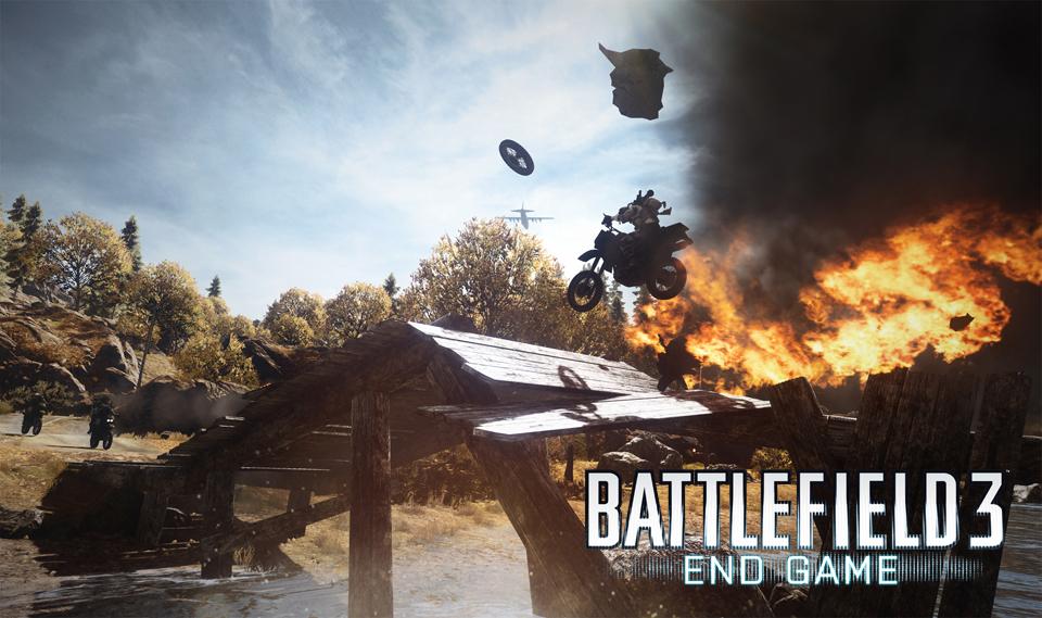Battlefield 3 : End Game / Capture the flag 75205