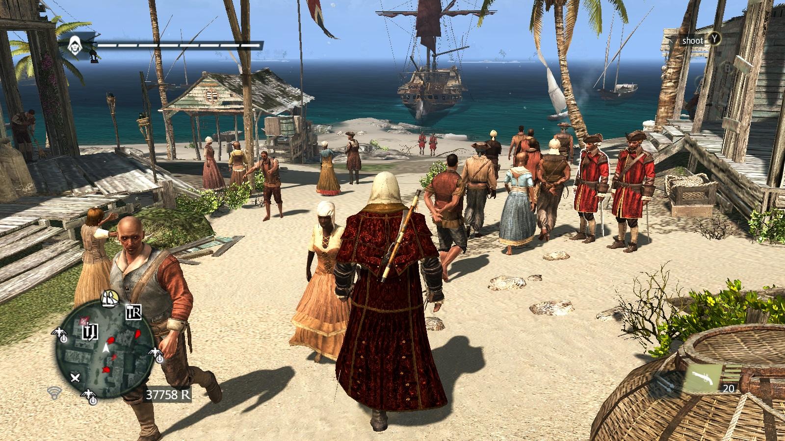 Assassins Creed IV: Black flag, aneb bukanýrem snadno a rychle 7541