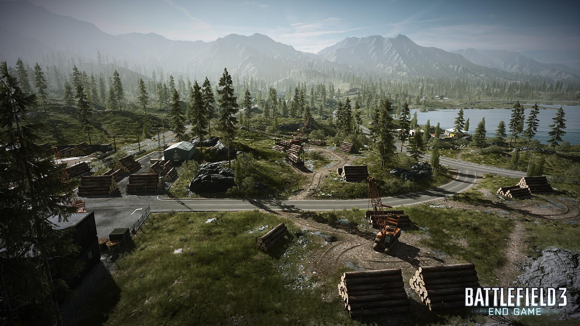 Battlefield 3 : End Game / Capture the flag 75535