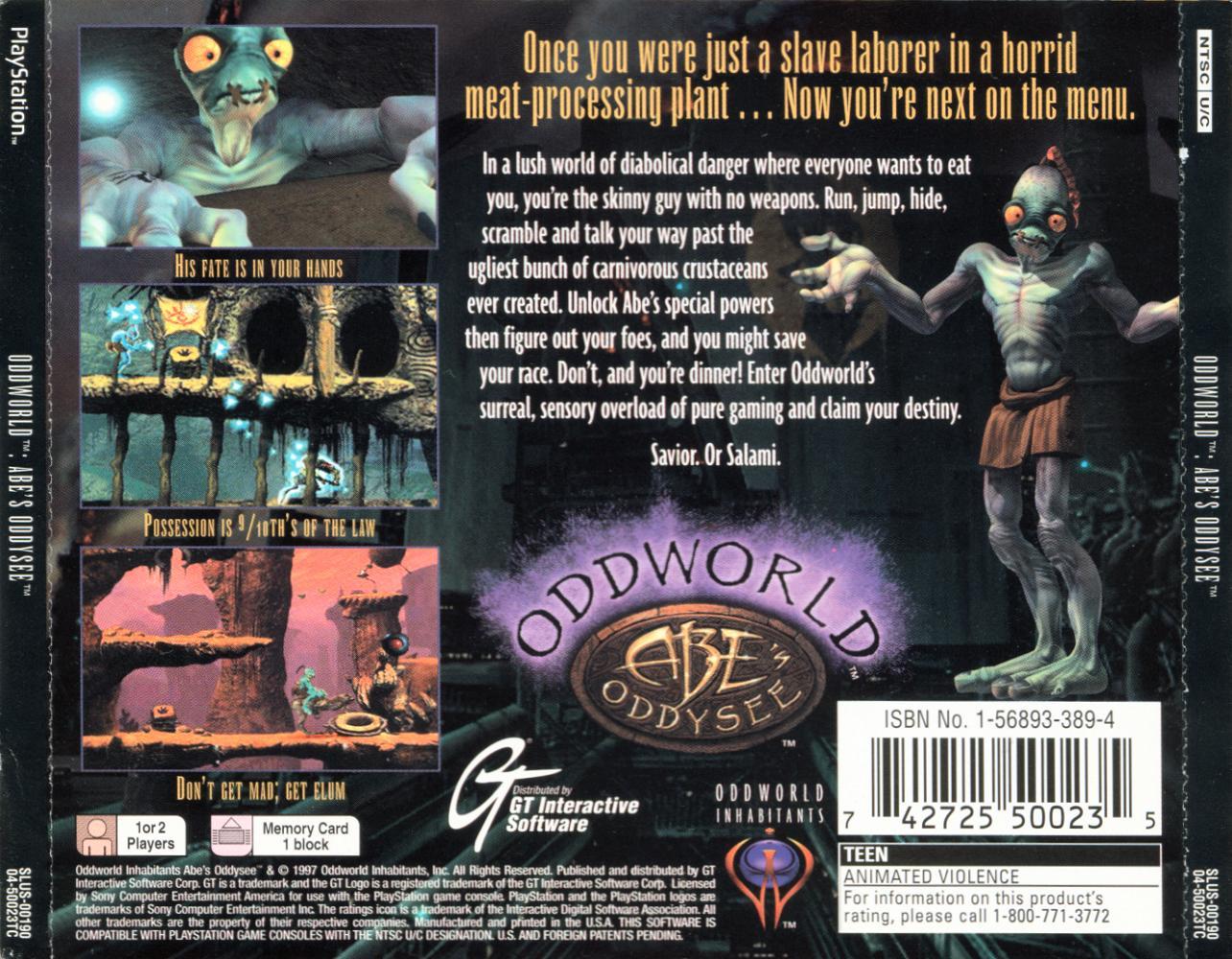 ReBoot Retro (Část 1) : Oddworld Abe's Oddysee 7571