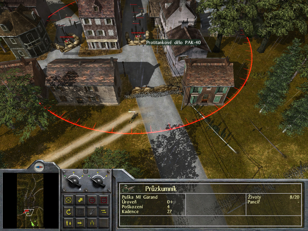 Staré hry: 1944 Battle of the Bulge- singleplayer 7694