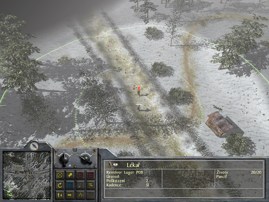 Staré hry: 1944 Battle of the Bulge- singleplayer 7697