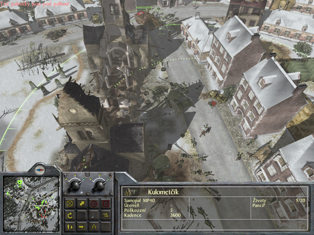 Staré hry: 1944 Battle of the Bulge- singleplayer 7699