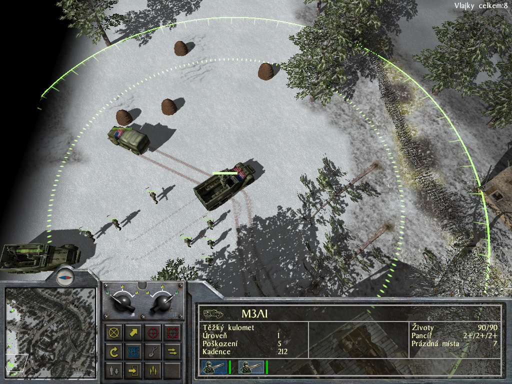 Staré hry: 1944 Battle of the Bulge- singleplayer 7700