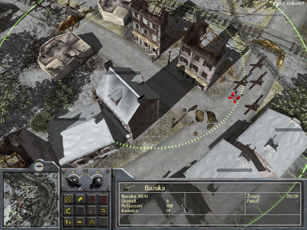 Staré hry: 1944 Battle of the Bulge- singleplayer 7722